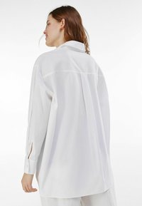 Bershka - Button-down blouse - stone - 2