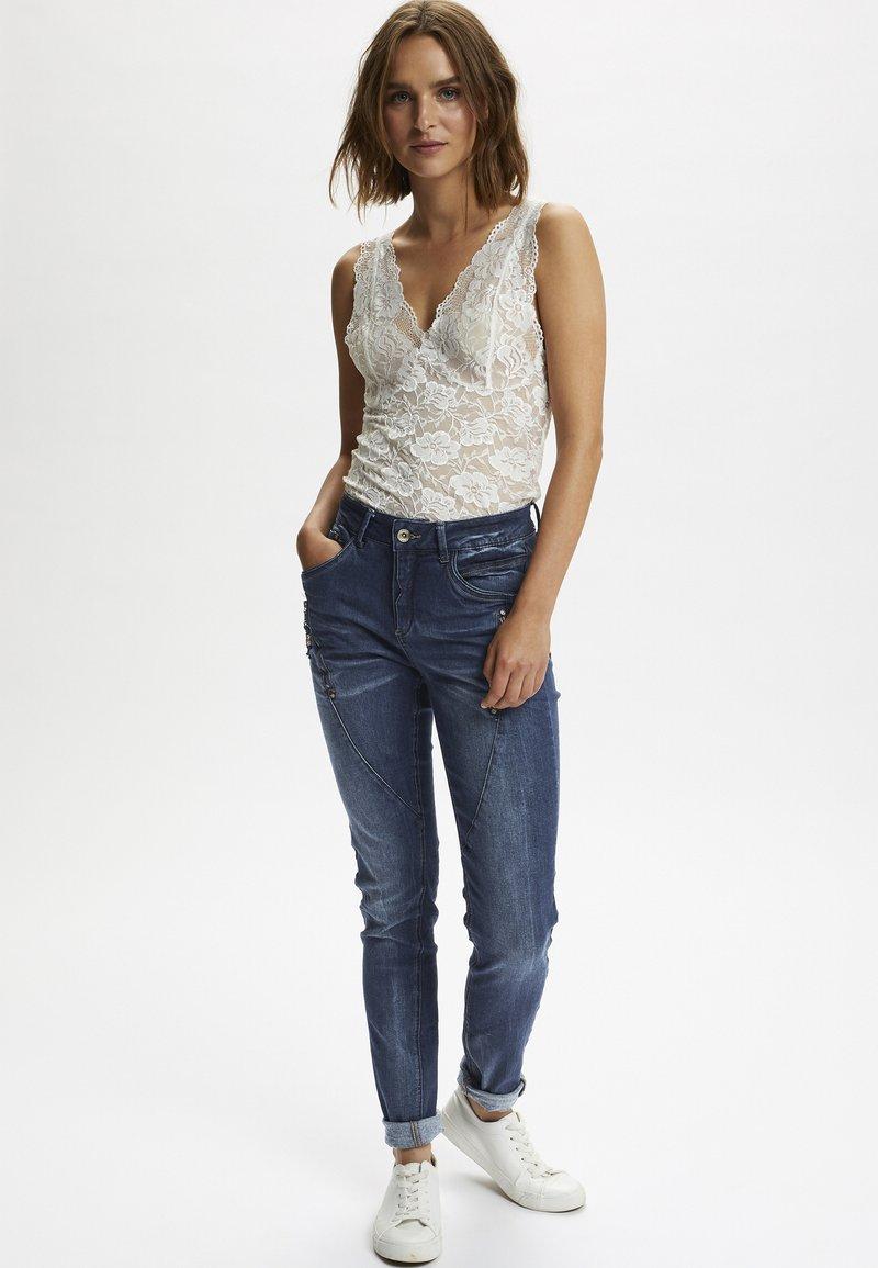 Cream - BIBIANA - Jeans Skinny Fit - rich blue denim