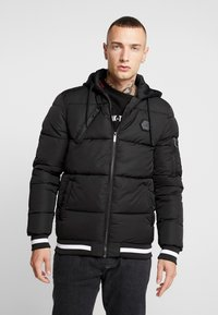 Supply & Demand - HARLEY PADDED JACKET - Zimní bunda - black - 0