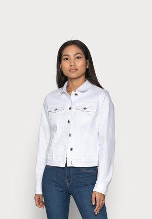 VMHOT SOYA JACKET - Jeansjakke - bright white