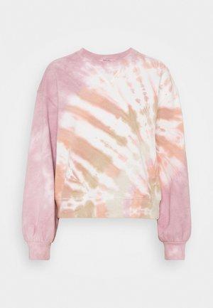 CREW PATTERN - Sudadera - pink wash