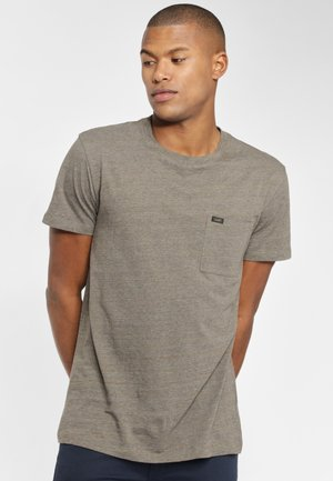 ULTIMATE POCKET TEE - T-shirt - bas - utility green