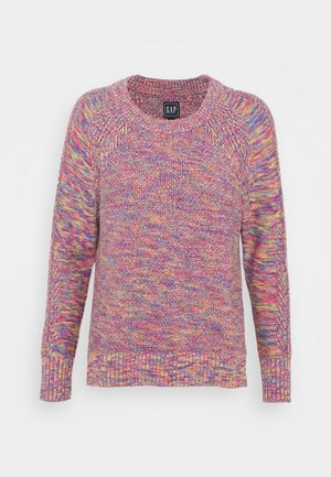 TEXTURED CREW  - Jumper - multi marl