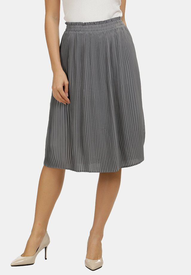 ROCK - A-line skirt - gray