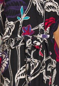 Mavi - SLEEVELESS DRESS - Skjortekjole - black - 5