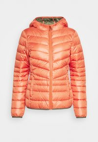 TOM TAILOR DENIM - LIGHT PADDED JACKET - Lett jakke - burnt coral - 4
