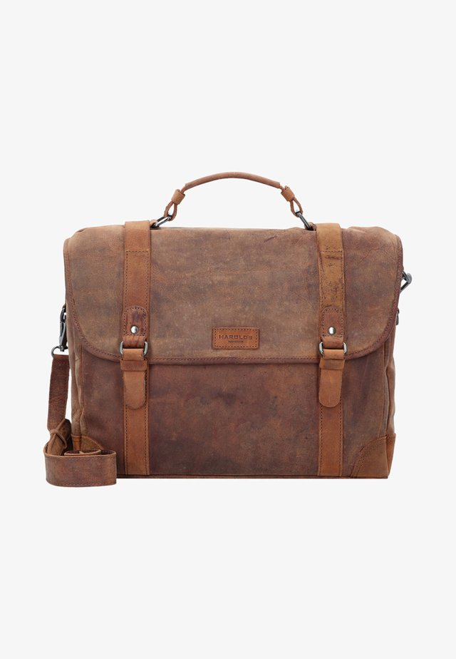 Laptoptas - brown