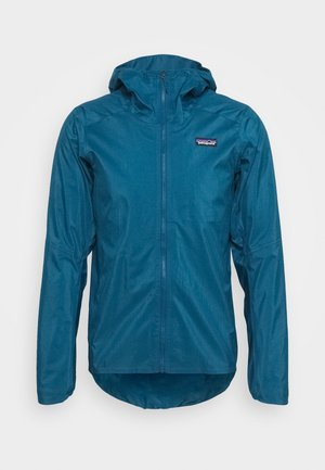 DIRT ROAMER - Waterproof jacket - crater blue