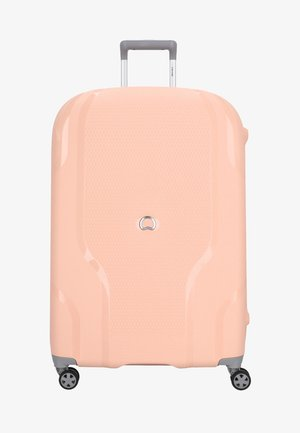 Wheeled suitcase - light pink
