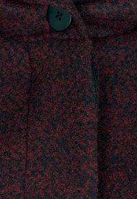 Zizzi - MIT WOLLE - Short coat - bordeaux - 2