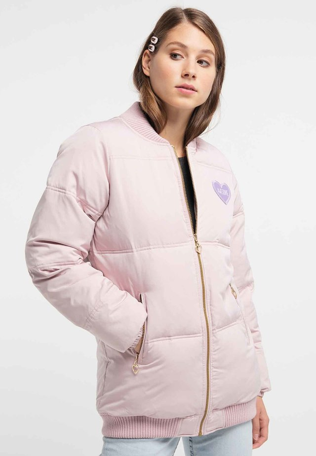 Kurtka zimowa - powder pink
