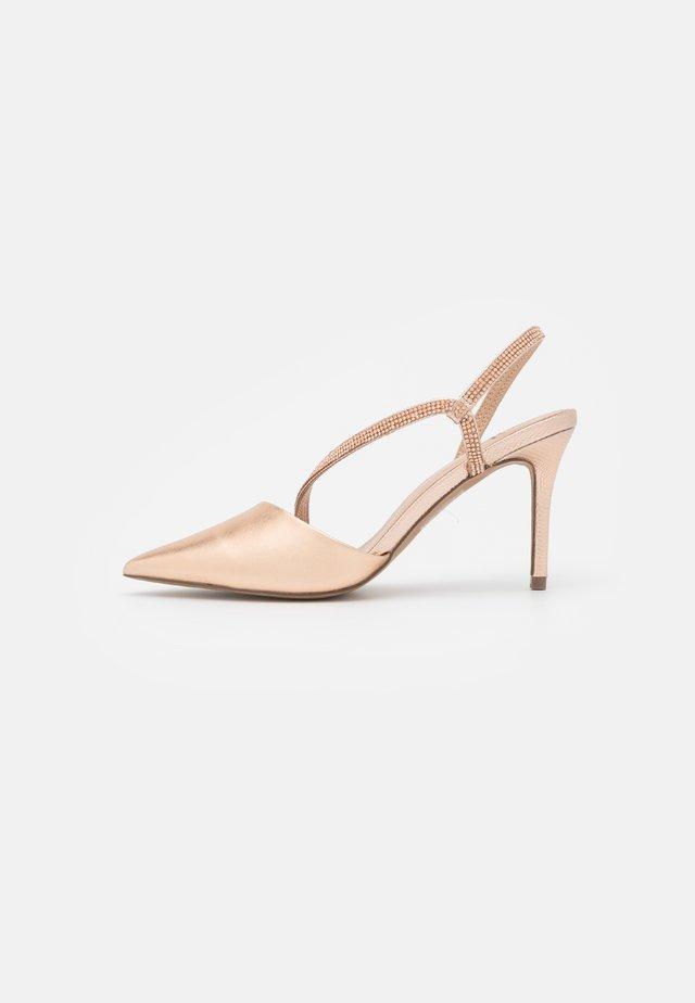 MANDELL - Classic heels - rose gold