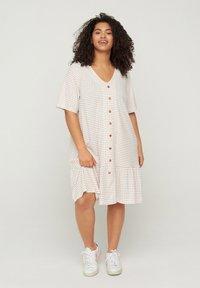 Zizzi - Shirt dress - white - 0