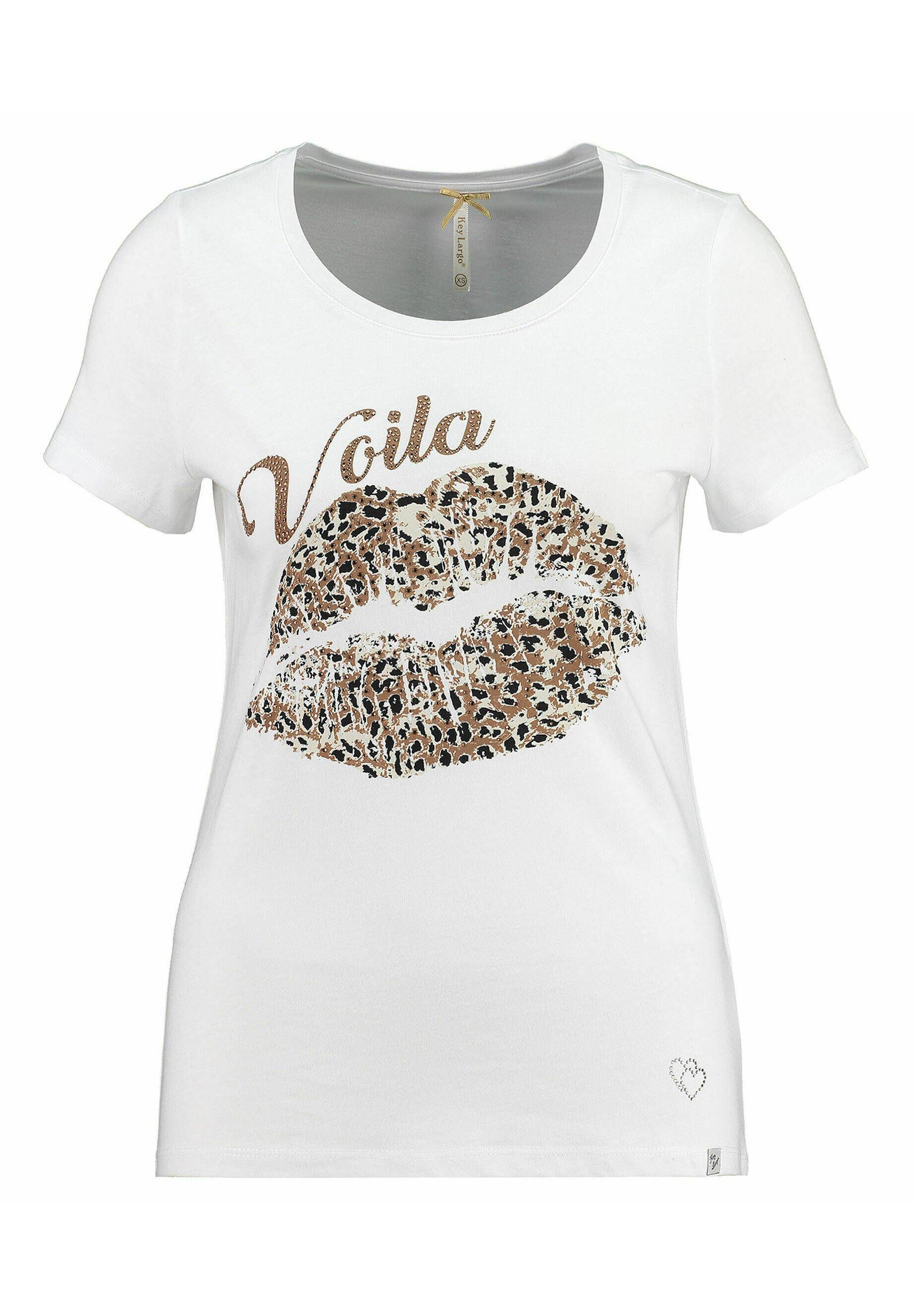 Damen T-Shirt print - weiss