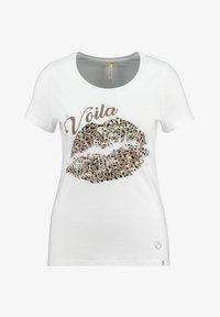 Key Largo - Print T-shirt - weiss - 0
