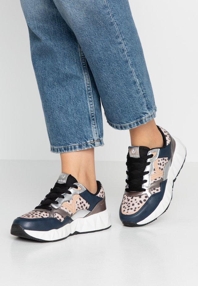 ARISTA ANIMAL PRINT - Sneakers laag - marino