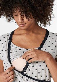 Esprit Maternity - MIT PRINT - Nattøj trøjer - light grey melange - 3