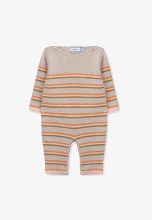 NEWBORN JADEN - Jumpsuit - peony stripes