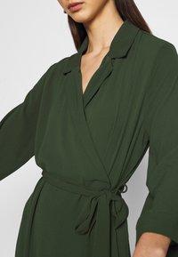 Monki - ANDIE DRESS - Day dress - dark green - 5