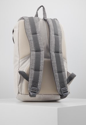 LITTLE AMERICA - Mochila - raven crosshatch/vapor crosshatch/tan