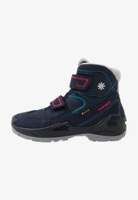 Lowa - MILO GTX MID - Winter boots - navy/magenta - 1