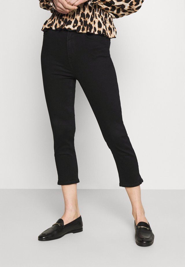 CROPPED - Jeans Skinny Fit - black denim