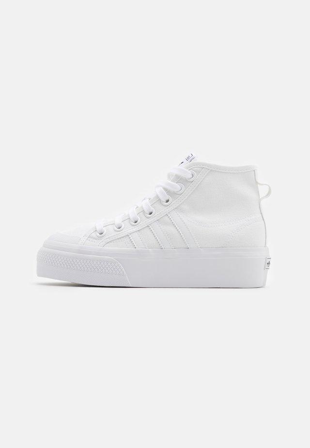 NIZZA PLATFORM MID - Sneakers alte - footwear white