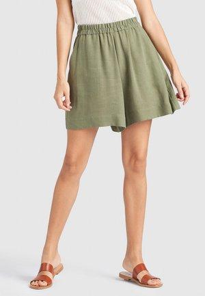 DORINA - Shorts - oliv