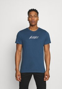 Jack & Jones - JOROMBRE TEE CREW NECK 5 PACK - T-shirt med print - white - 4