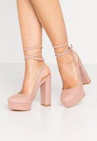 Even&Odd - Escarpins à talons hauts - light pink - 0