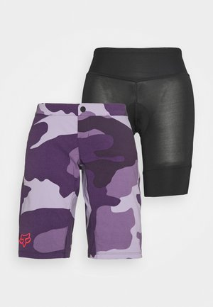 RANGER SHORT 2-IN-1 - Korte broeken - dark purple