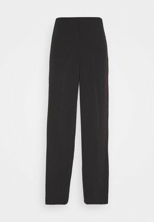 JULIA FLUID TROUSER - Trousers - black