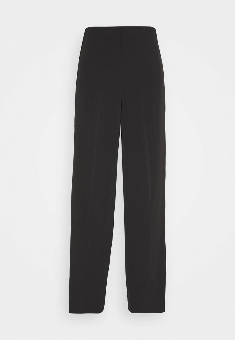 Weekday - JULIA FLUID TROUSER - Trousers - black