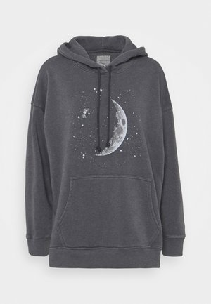 HOODIE SOLID - Sweatshirt - washed black