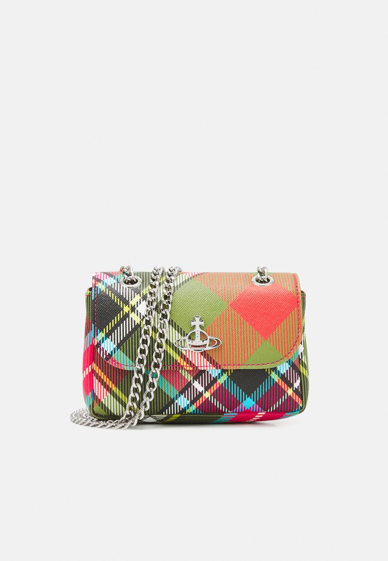 Vivienne Westwood - DERBY SMALL PURSE WITH CHAIN - Across body bag - multicoloured