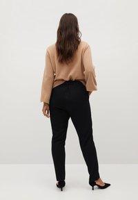 Violeta by Mango - TRAVEL - Trousers - black - 2