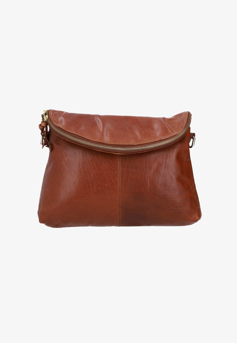 Gusti Leder - Across body bag - honey brown