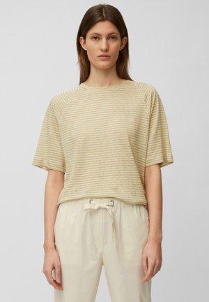 Print T-shirt - multi/sweet corn