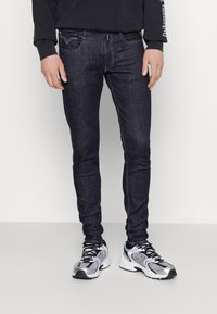 Replay - BRONNY AGED  - Jeans Tapered Fit - dark blue - 0