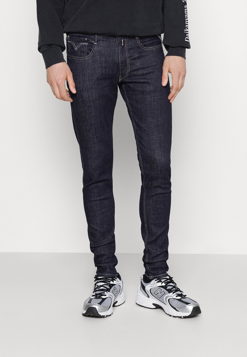 Replay - BRONNY AGED  - Jeans Tapered Fit - dark blue