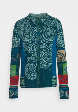 JACKET EMBROIDERY - Kardigan - pacific