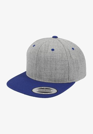 CLASSIC SNAPBACK 2-TONE - Cap - light grey/blue
