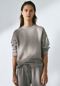 Massimo Dutti - Tracksuit bottoms - grey - 1