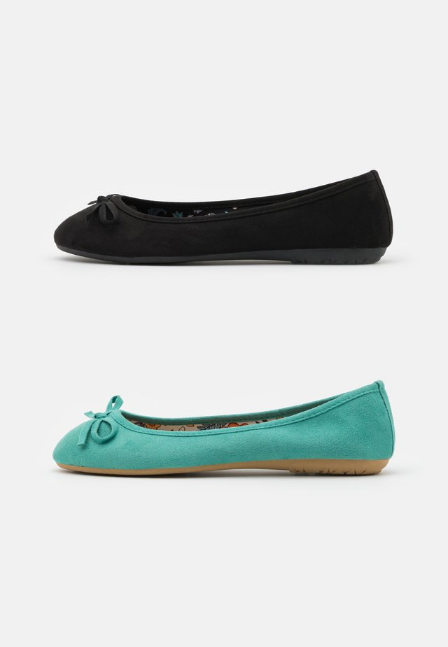 2 PACK - Ballerine - mint/black