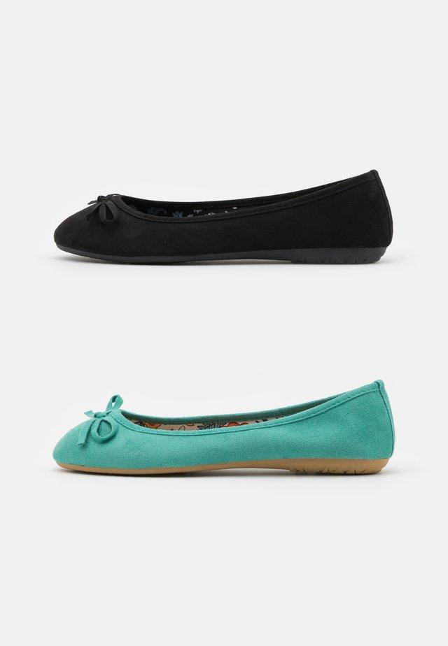 2 PACK - Ballerina - mint/black