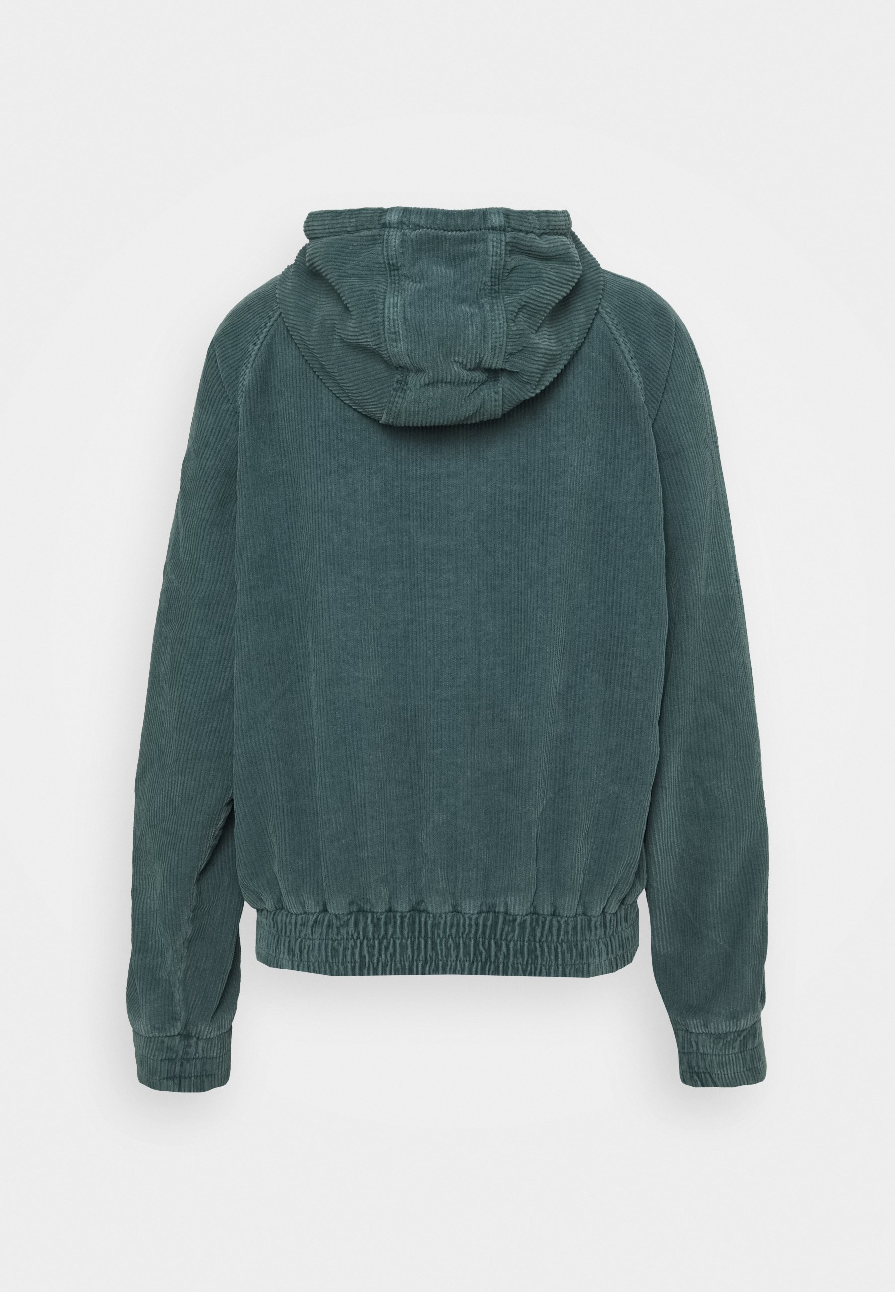 BDG Urban Outfitters HOODED JACKET Lett jakke teal