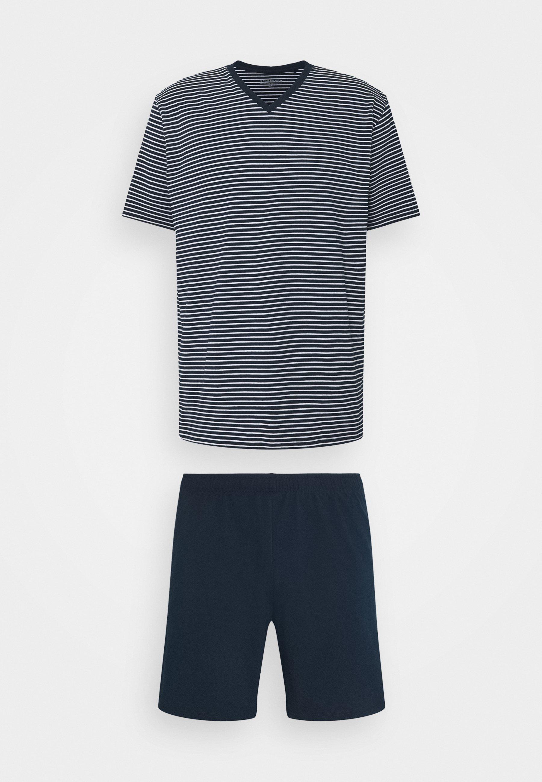 Homme SCHLAFANZUG KURZ SET - Pyjama