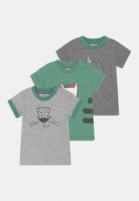 Jacky Baby - LEOPARDY 3 PACK - Printtipaita - grey/green - 0
