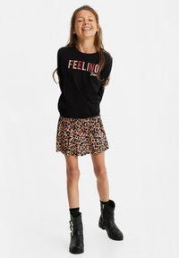 WE Fashion - Long sleeved top - black - 0