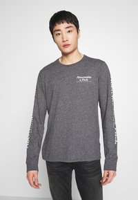 Abercrombie & Fitch - Long sleeved top - black - 0